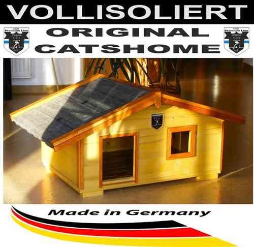 catshome katzenh user katzenhaus aus echtholz bei home of. Black Bedroom Furniture Sets. Home Design Ideas