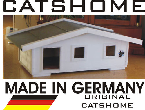 catshome katzenh user katzenhaus aus echtholz bei home of. Black Bedroom Furniture Sets. Home Design Ideas