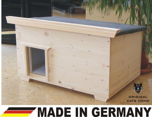 luxus katzenhaus ideal bodenisoliert f r den outdoorbereich. Black Bedroom Furniture Sets. Home Design Ideas
