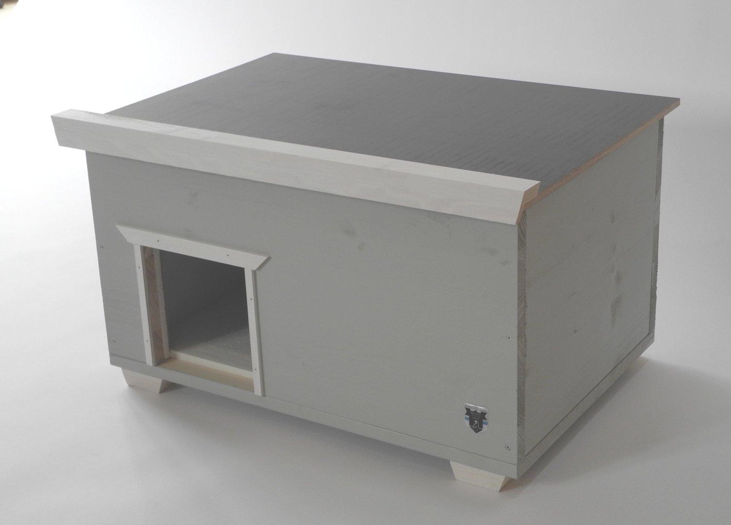 katzenhaus xl isoliert garten bau markt f r jeden isoliert wetterfest katzenhaus. Black Bedroom Furniture Sets. Home Design Ideas