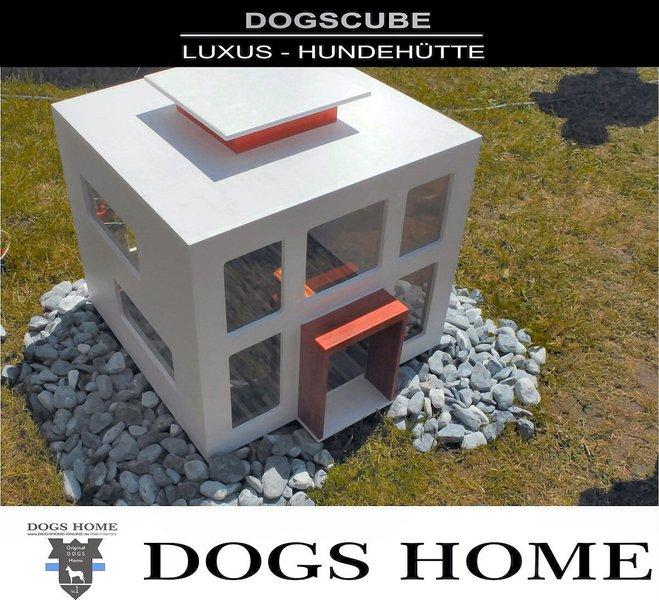 Exklusive Design Luxus Hundehutte Dogs Cube M Outdoor Hundehaus