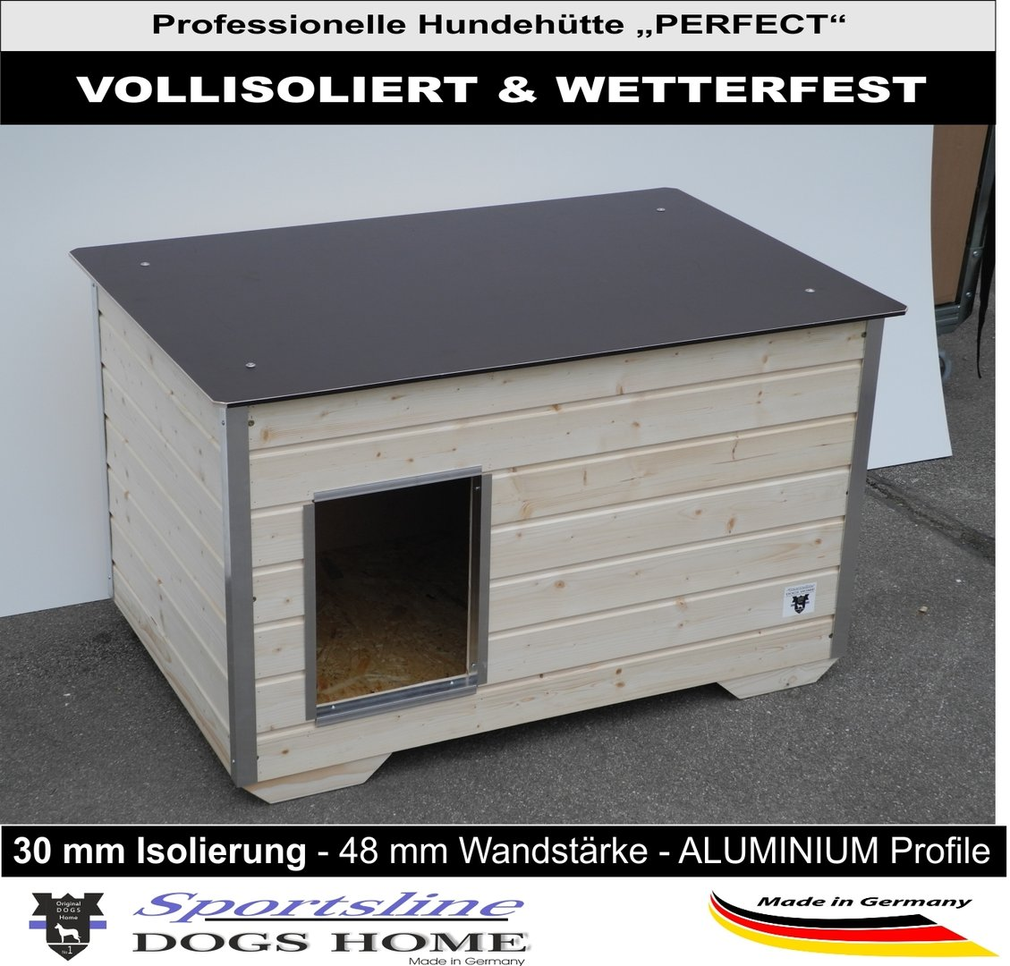 dogshome hundeh tte perfect 120 xl outdoor wetterfest. Black Bedroom Furniture Sets. Home Design Ideas