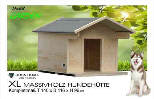 dogshome hundeh tte garden xl outdoor wetterfest. Black Bedroom Furniture Sets. Home Design Ideas