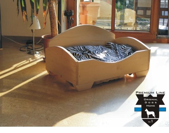 hundebett katzenbett safari m holz von original dogs home. Black Bedroom Furniture Sets. Home Design Ideas