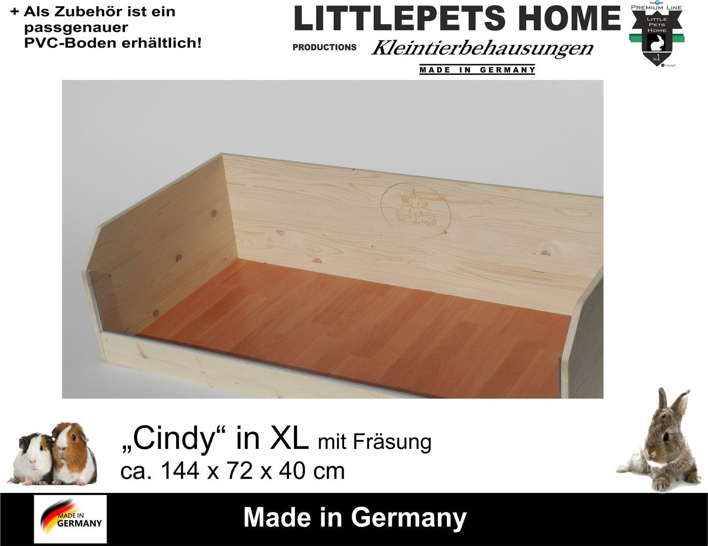 meerschweinchen gehege cindy zubeh r pvc boden. Black Bedroom Furniture Sets. Home Design Ideas