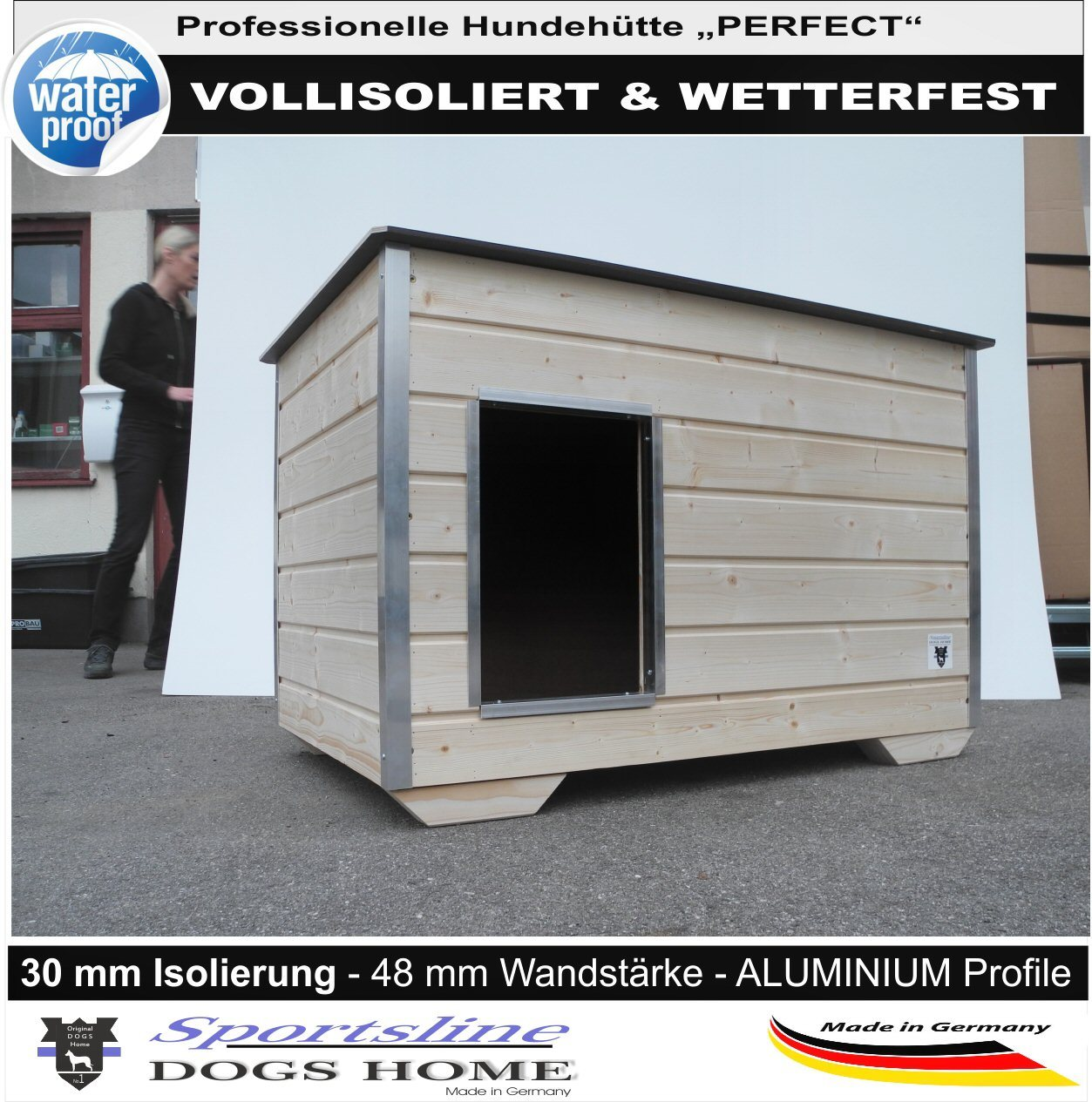home of hate neue hundeh tten von dogshome im programm home of pets alles rund ums. Black Bedroom Furniture Sets. Home Design Ideas