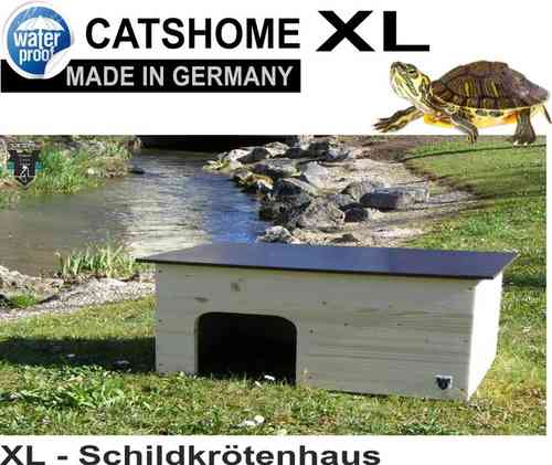 XL Schildkrötenhaus CANDY 86 x 46 x 32 cm - Made in Germany