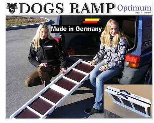 Hunderampe Optimum M - 120 x 35 cm von DOGS RAMP