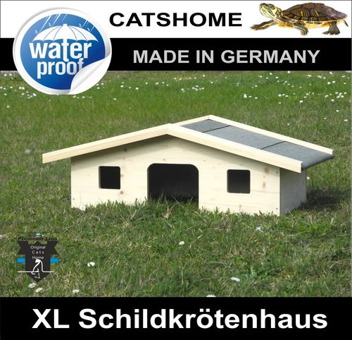Schildkrötenhaus VILLA XL  Made in Germany